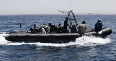 Nine migrants picked up off British coast