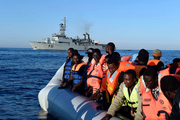 Racist EU leaders are to blame for refugee deaths