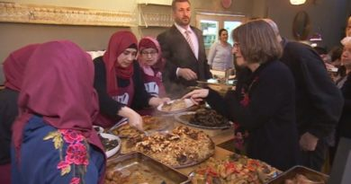 Syrian refugees in Aberystwyth set up pop-up restaurant